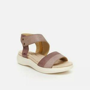 Jambu Shoes - JBU Jambu Womens Sz 9 Pebbled Leather Sandals Walk